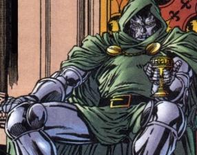 Doom lined the inside of his armor with velvet. Nothing feels better against Doom's flesh.