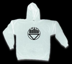 Even if you're a White Lantern, it gets chilly in space.